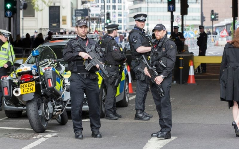 Armed Uk Police Now Trained To Shoot Terrorists Involved