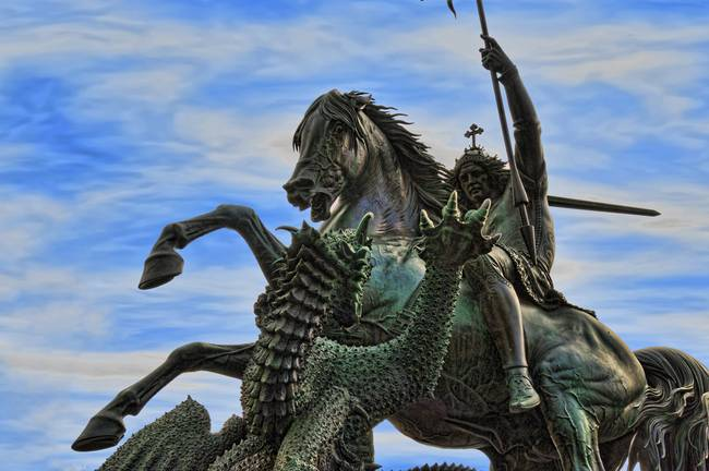 The Legend Of St George Amp The Dragon Albert Jack