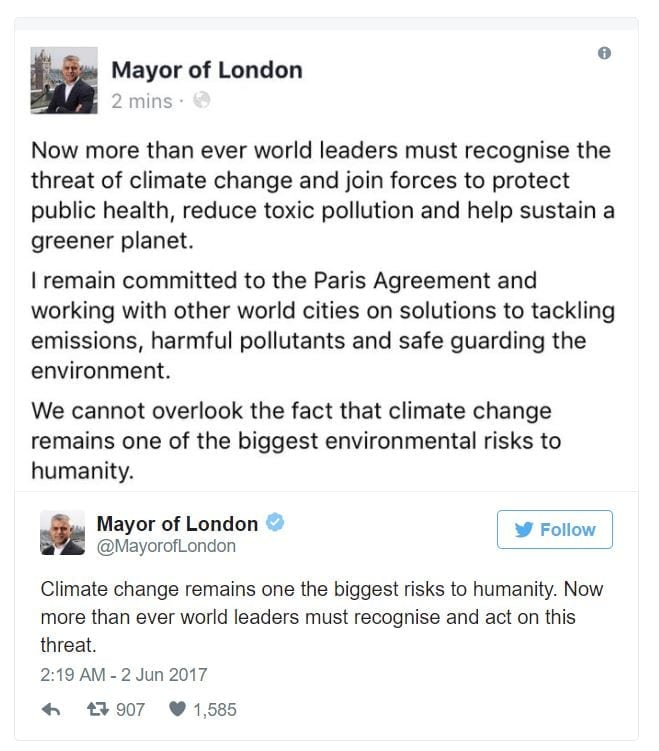 The Paris Agreement Solutions To The Issue Of Global Warming